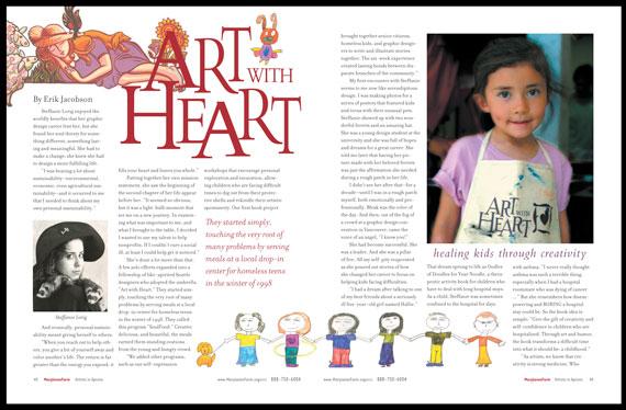 Book Designer-Longfeather Book Design-Magazine Design and Layout