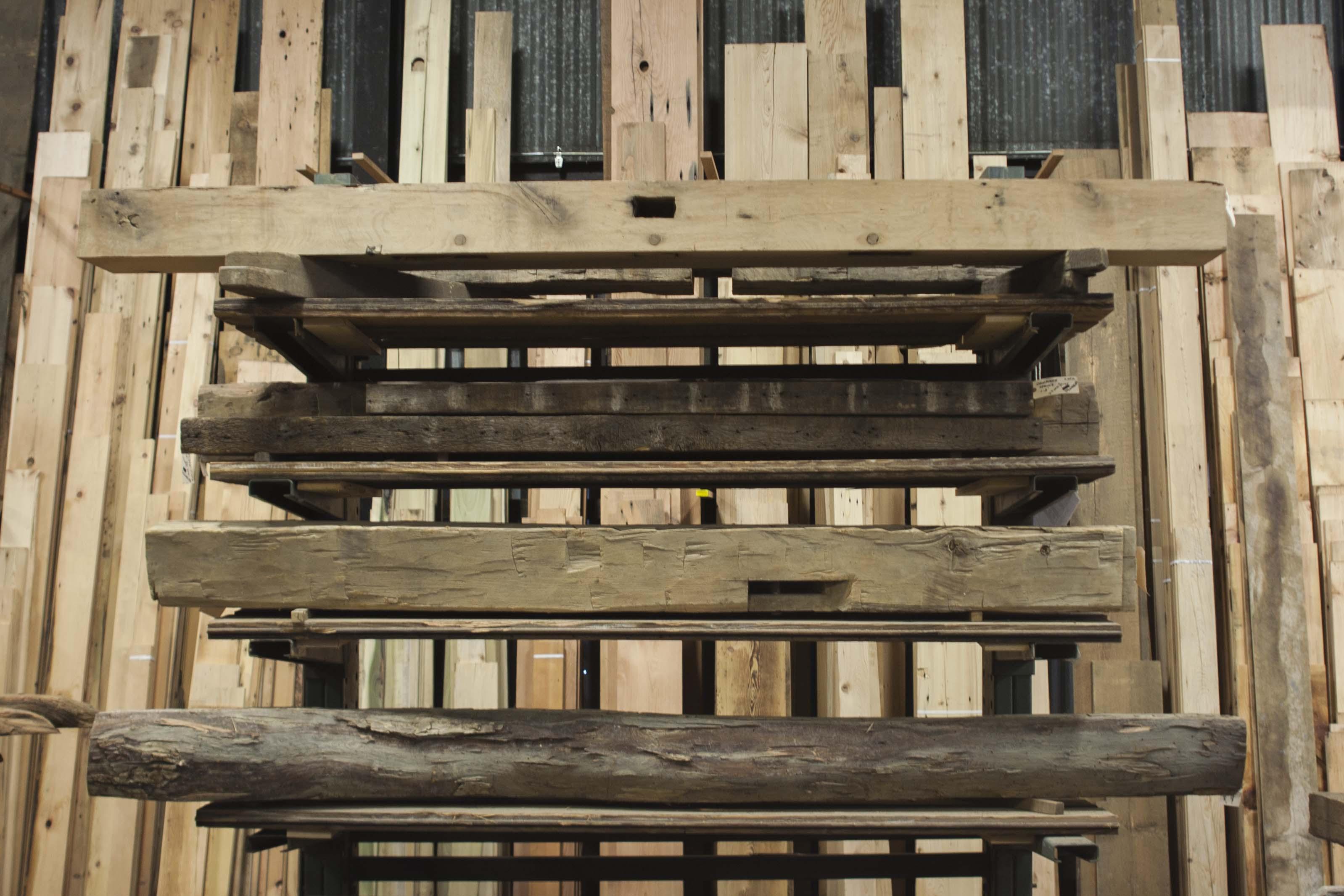 Longleaf Lumber Reclaimed Wood Fireplace Mantels