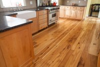 Longleaf Lumber - Reclaimed Hickory Mixed-Width Wood Flooring