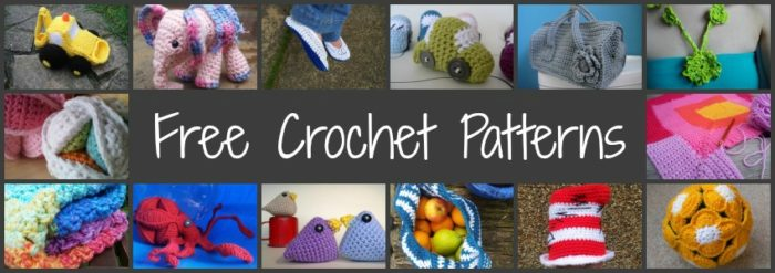 Free Crochet Patterns and Tutorials ⋆ Look At What I Made