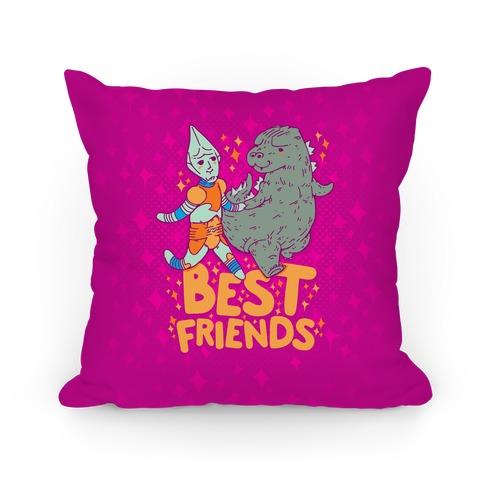 Best Friends Jet Jaguar Pillows And Pillow Cases