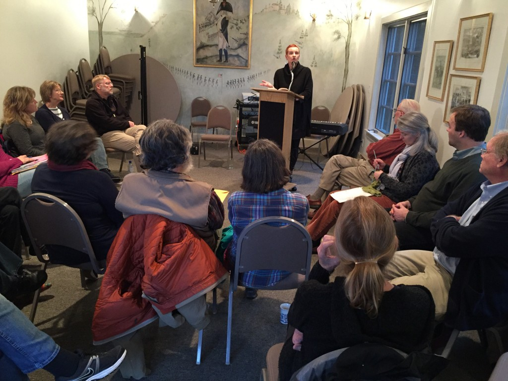 Suzanne Wolfe previews her novel for The Chrysostom Society: chrysostomsociety.org