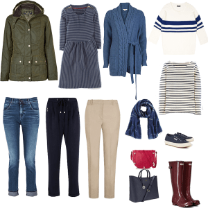 mini casual capsule wardrobe