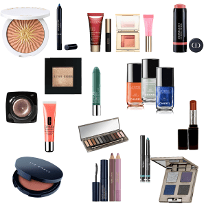 Holiday capsule wardrobe - makeup