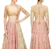 44 Types of Saree Blouses Front & Back Neck Designs ...