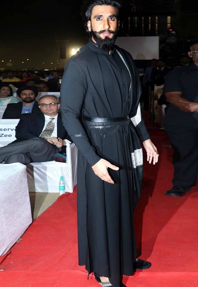 Black And Grey Wallpaper 40 Quirky Fashion Moments Of Ranveer Singh That Left Us