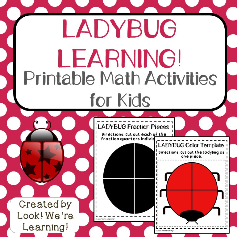Printable Activities for The Grouchy Ladybug - Look! We\u0027re Learning!