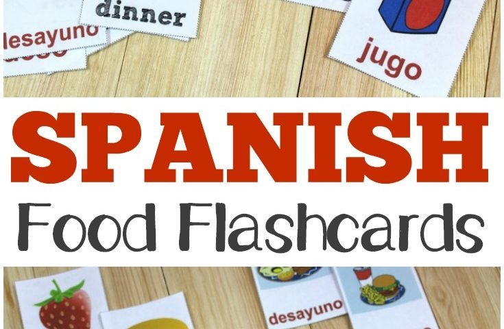 printable spanish flashcards Archives - Look! We\u0027re Learning!