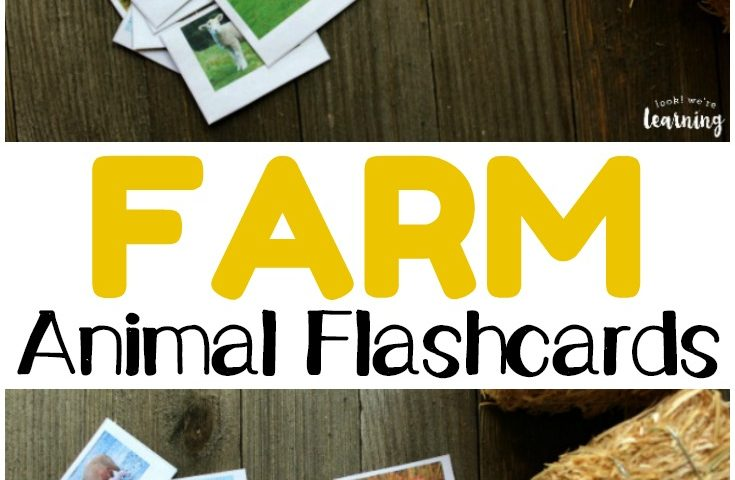 printable farm animal flashcards Archives - Look! We\u0027re Learning!