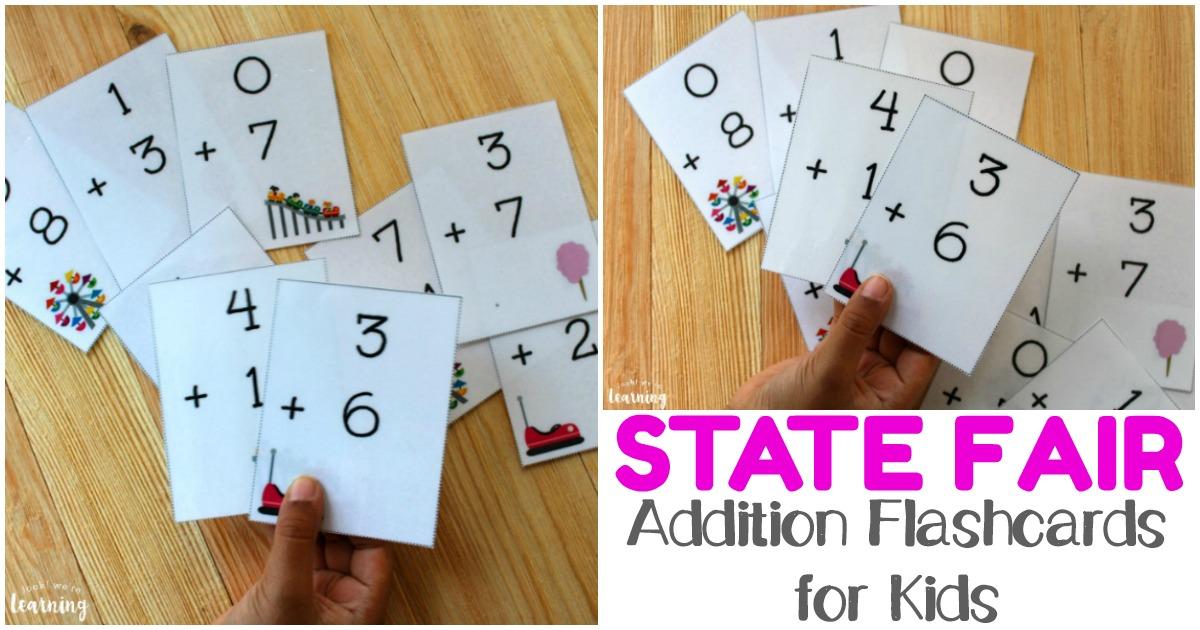 Free Printable Flashcards Addition Flashcards 0-10