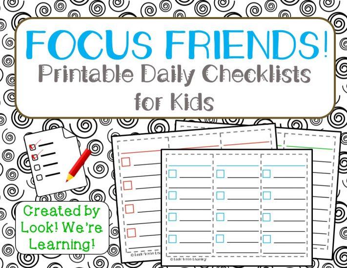 Kids Daily Checklist cvfreepro