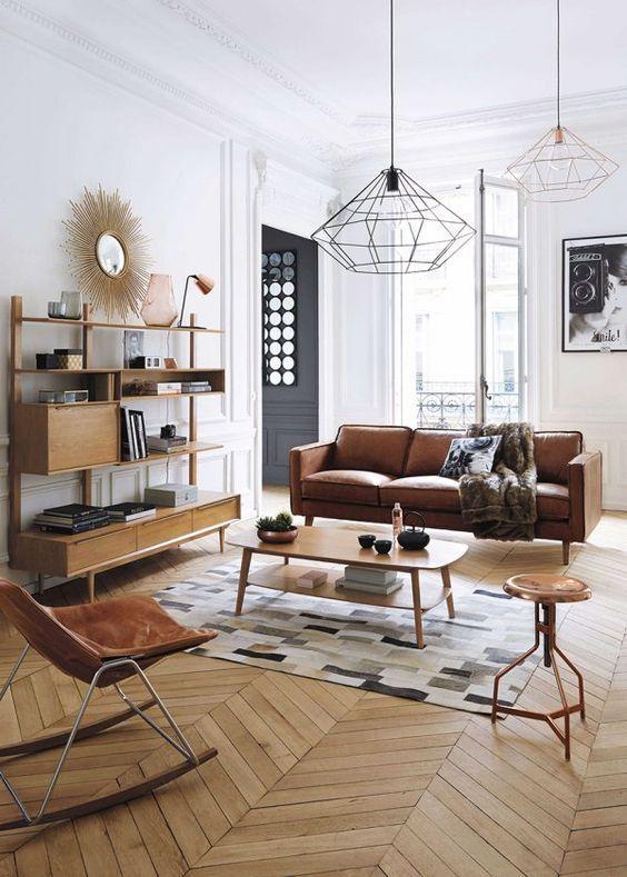 48 Trendy Midcentury Modern Interior Designs - Loombrand - mid century modern living room