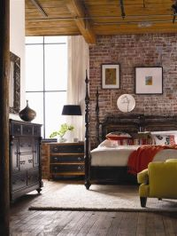 54 Eye-Catching Rooms With Exposed Brick Walls - Loombrand