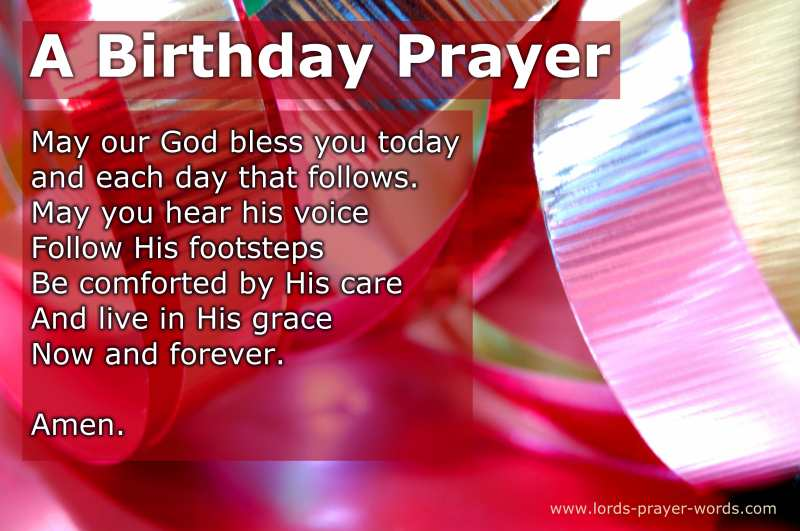 8 Birthday Prayers For Friends, Loved Ones  Myself - Be BLESSED!