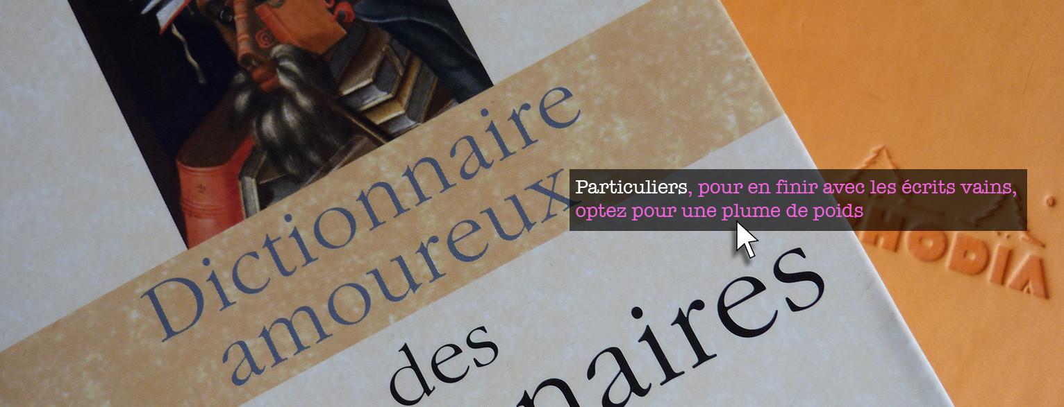 http://www.loreilleetlaplume.fr/ecrivain-public-pour-particuliers/