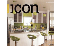 Celebrity Los Angeles Interior Designer Lori Dennis Icon Magazine October, 2008