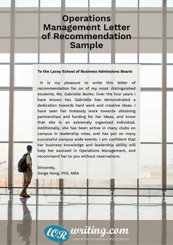 sample letter of recommendation leadership skills