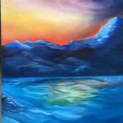 Huge Painting on eBay