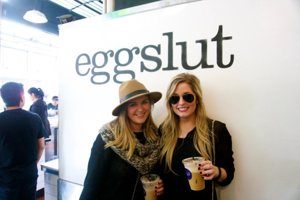 The typical Eggslut customer is a far cry from the typical pupuseria customer!