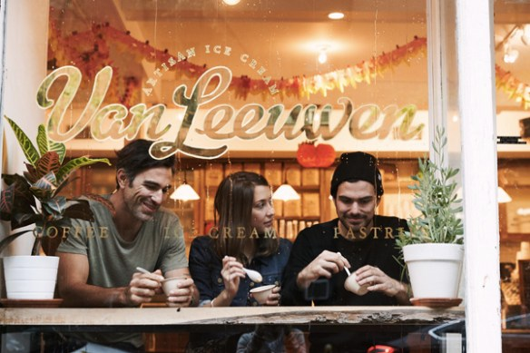 Van Leeuwen is the ice cream of the attractive alternative crowd