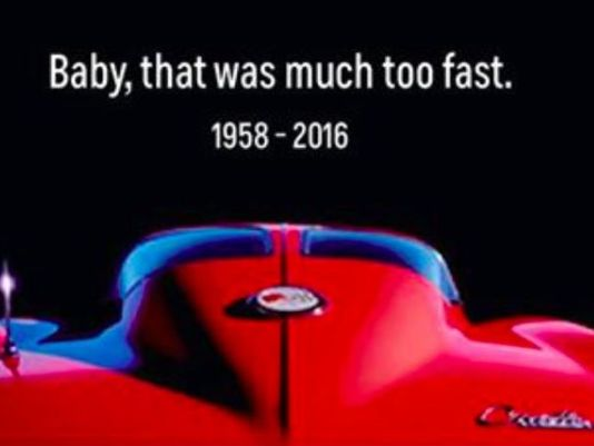 A classy tribute from the makers of the automobile that Prince immortalized.