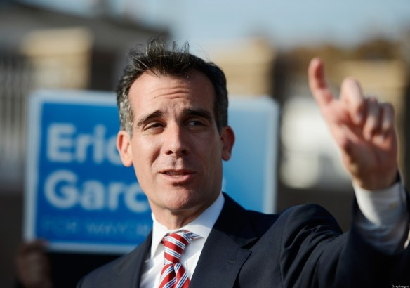 Our mayor, Eric Garcetti.