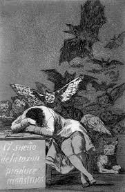 "The Spanish caption reads:""The Sleep of Reason Produces Monsters."""
