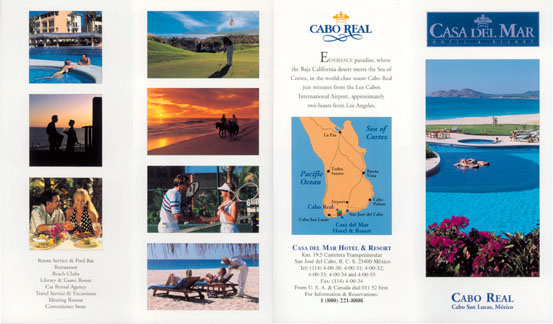 Brochures and Rack Cards - Los Cabos Guide - Tyson Promotions