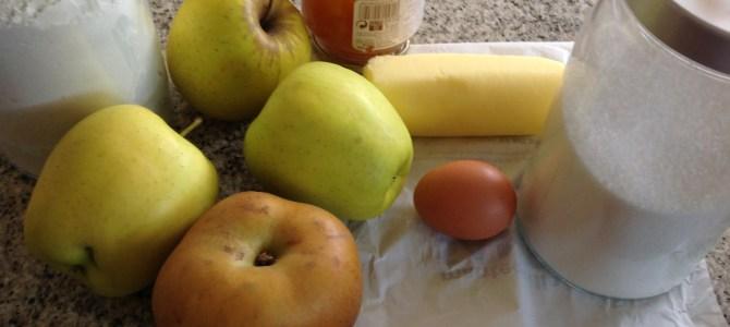 Receta: Tarta de manzana para el día de la madre