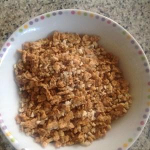 cereales machacados