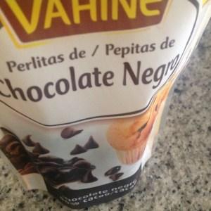 perlitas de chocolate negro