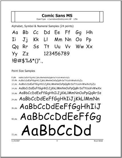 Printer\u0027s Apprentice 81 Documentation - Windows Font Manager