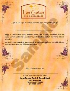 Grapes Certificate