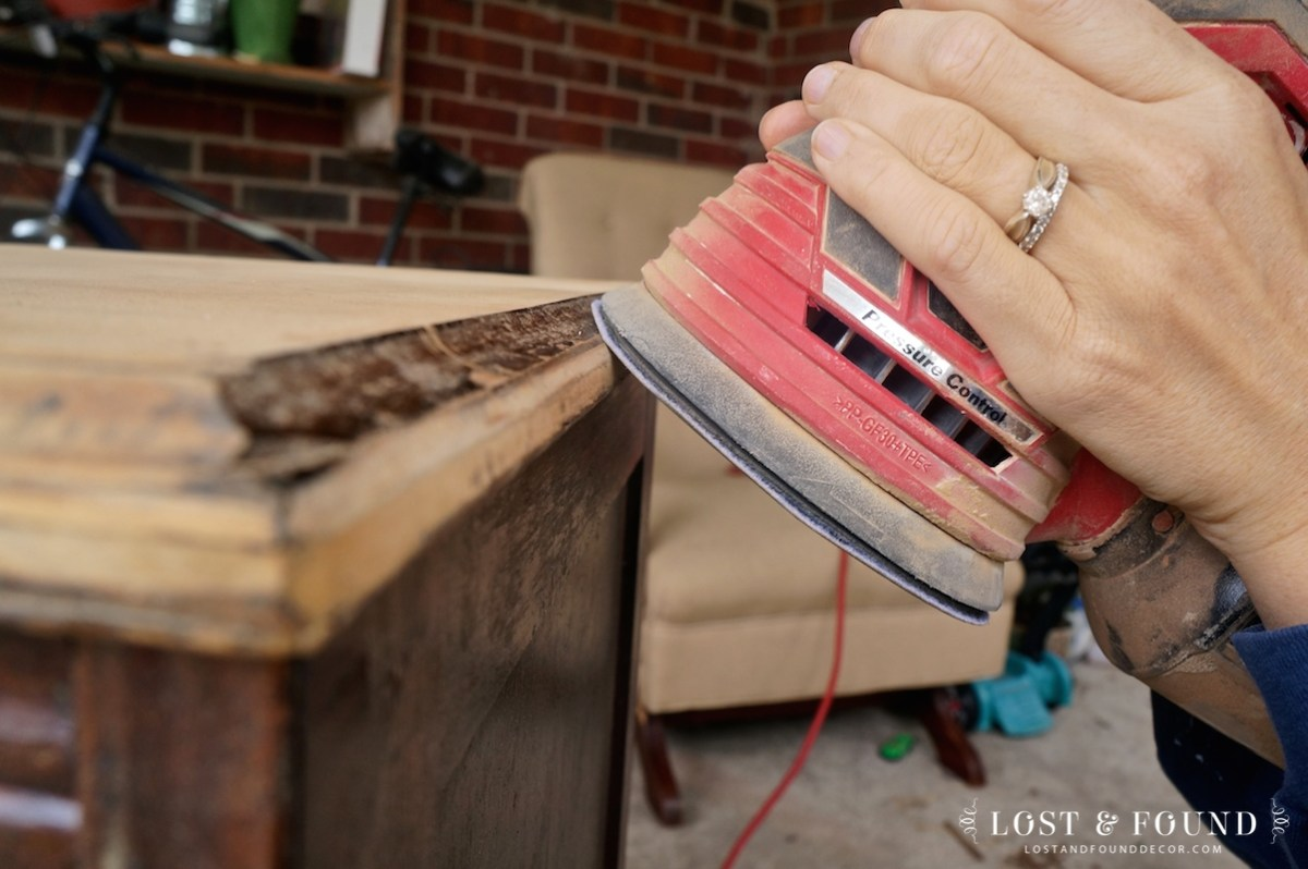 How to Refinish a Table Top or Dresser - Part 1