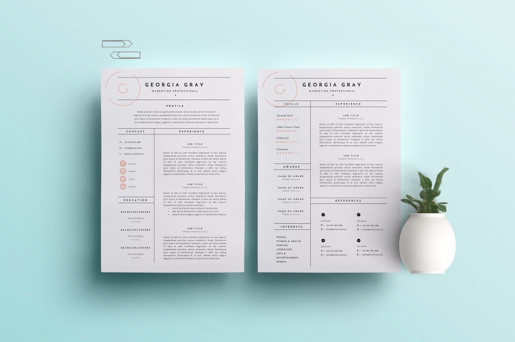 Resume Templates Thatu0027ll Help You Stand Out From The Crowd - gen y - clean resume templates