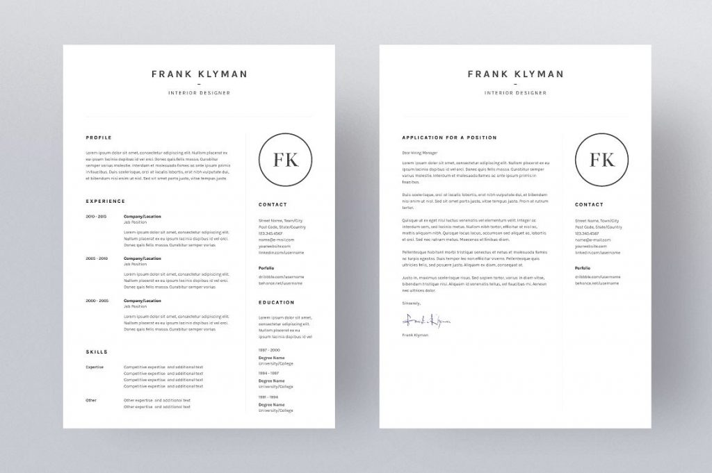 Resume Templates That\u0027ll Help You Stand Out From The Crowd - gen y girl - clean resume template