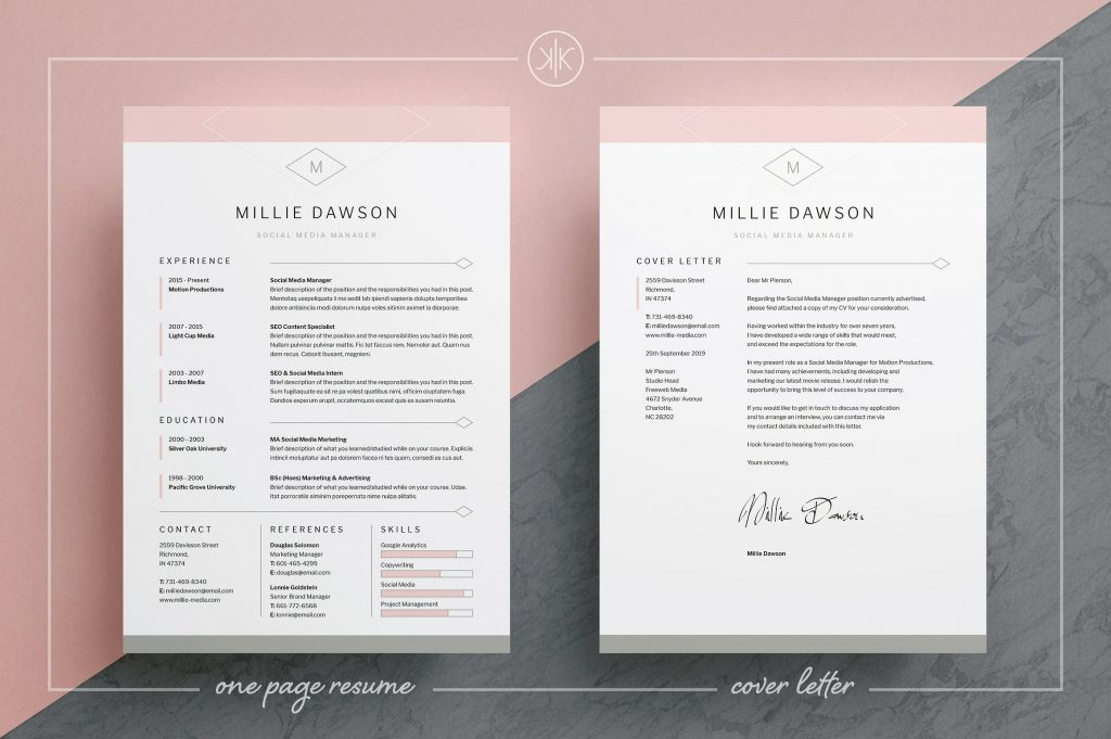 Resume Templates Thatu0027ll Help You Stand Out From The Crowd - gen y - stand out resume templates