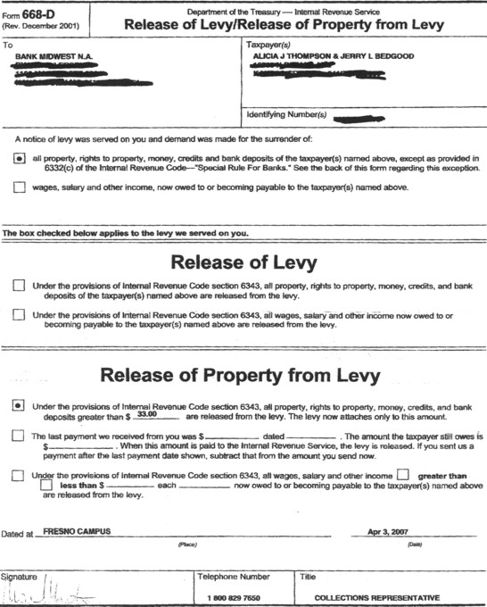 Lien Release Form Nh  Irrevocable Letter Of Credit Negotiable