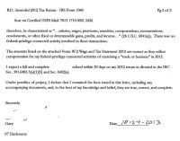 Example Letter Claiming Tax Refund - appeal letters ...