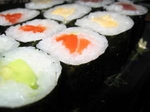 Maki Sushi by Nagy David