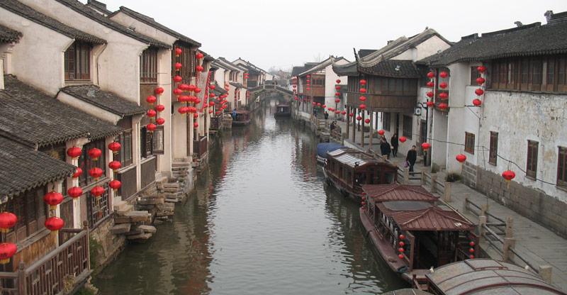 Shantang Jie, Suzhou. Photo by Ryan McLaughlin