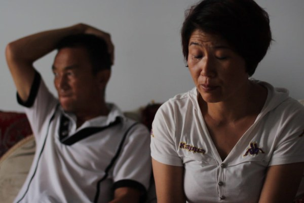 12-year-old Lei Xiaoxia's parents tearfully retell their story.