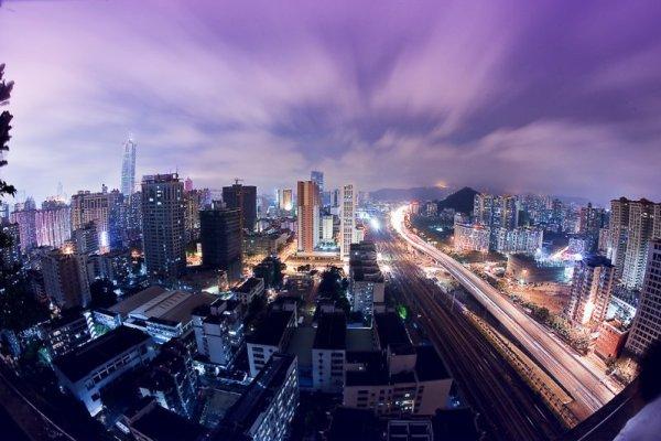 Guangzhou at Night. Photo by Ian Wallace.