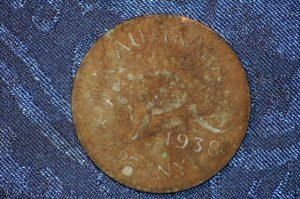 1938 Australian Penny