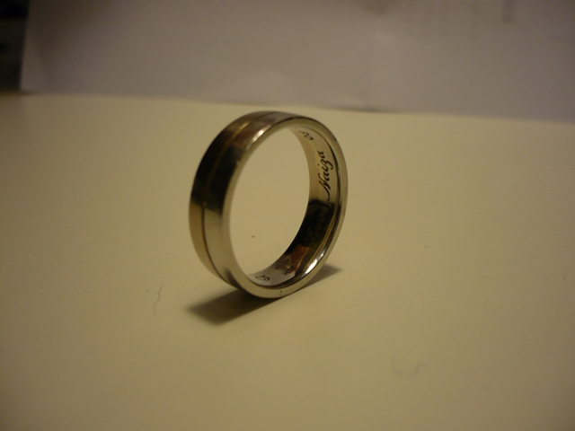 Gold Nugget Wedding Rings 57 Vintage Stephan us lost Gold