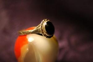 Amanda's Lost Silver Black Opal Ring - Found at Hillarys Beach