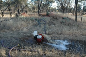Finally Pumping Water out of the Ghost Twon Water Well