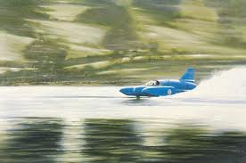 Donald Campbell's BlueBird Boat - World Water Speed Record 31st December 1964