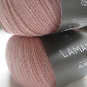 LOTILDA Strickjacke im Patentmuster aus Baumwolle Alpaka Wolle
