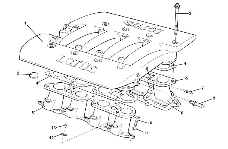 lotus v8 engine diagram